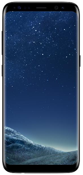 Samsung Galaxy S8 černý + dárek Samsung EP-NG930BB (černá) zdarma