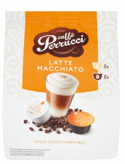 Caffé Perrucci Latte Macchiato (16ks)