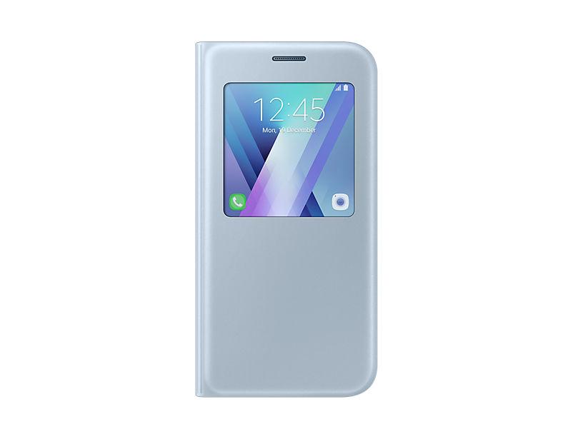 Samsung Galaxy A5 2017 modré S-View pouzdro