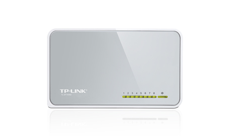 TP-LINK TL-SF1008D 8-port 10 / 100M