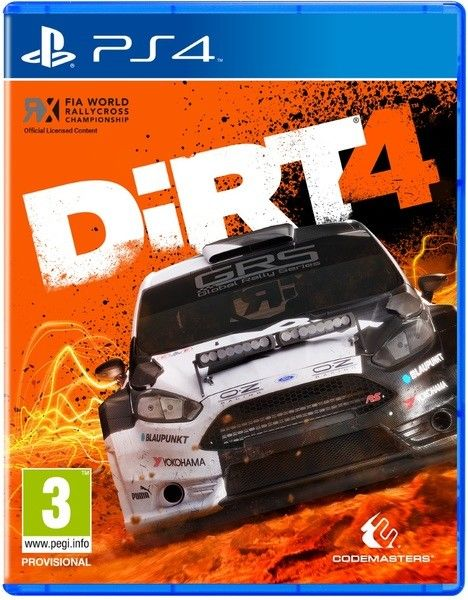 DiRT 4 - PS4 hra