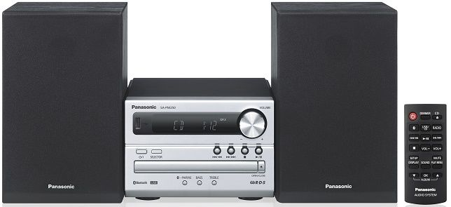 Panasonic SC-PM250B stříbrný