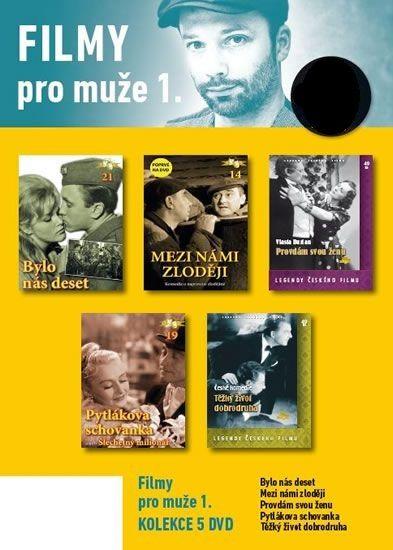 Filmy pro muže 1. - 5 DVD