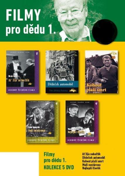 Filmy pro dědu 1. - 5 DVD