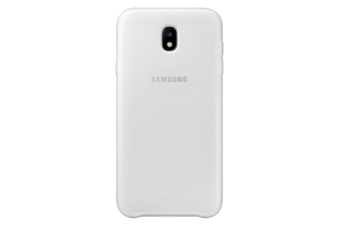 Samsung Galaxy J7 2017 bílý dvouvrstvý kryt