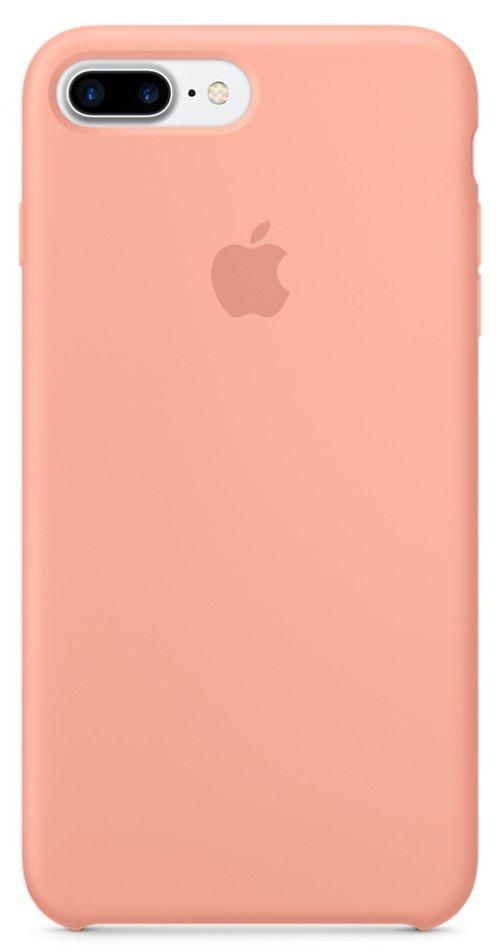 Apple silikonový kryt pro iPhone 7 Plus, Plameňákový