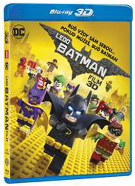 Lego Batman - Blu-ray film - 3D+2D