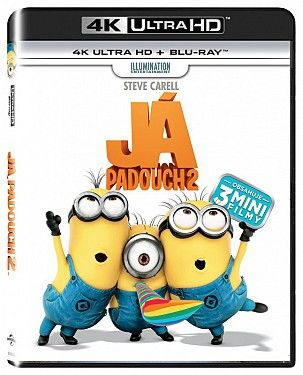 Já, padouch 2 - 2xBD (Blu-ray + 4K UHD film)