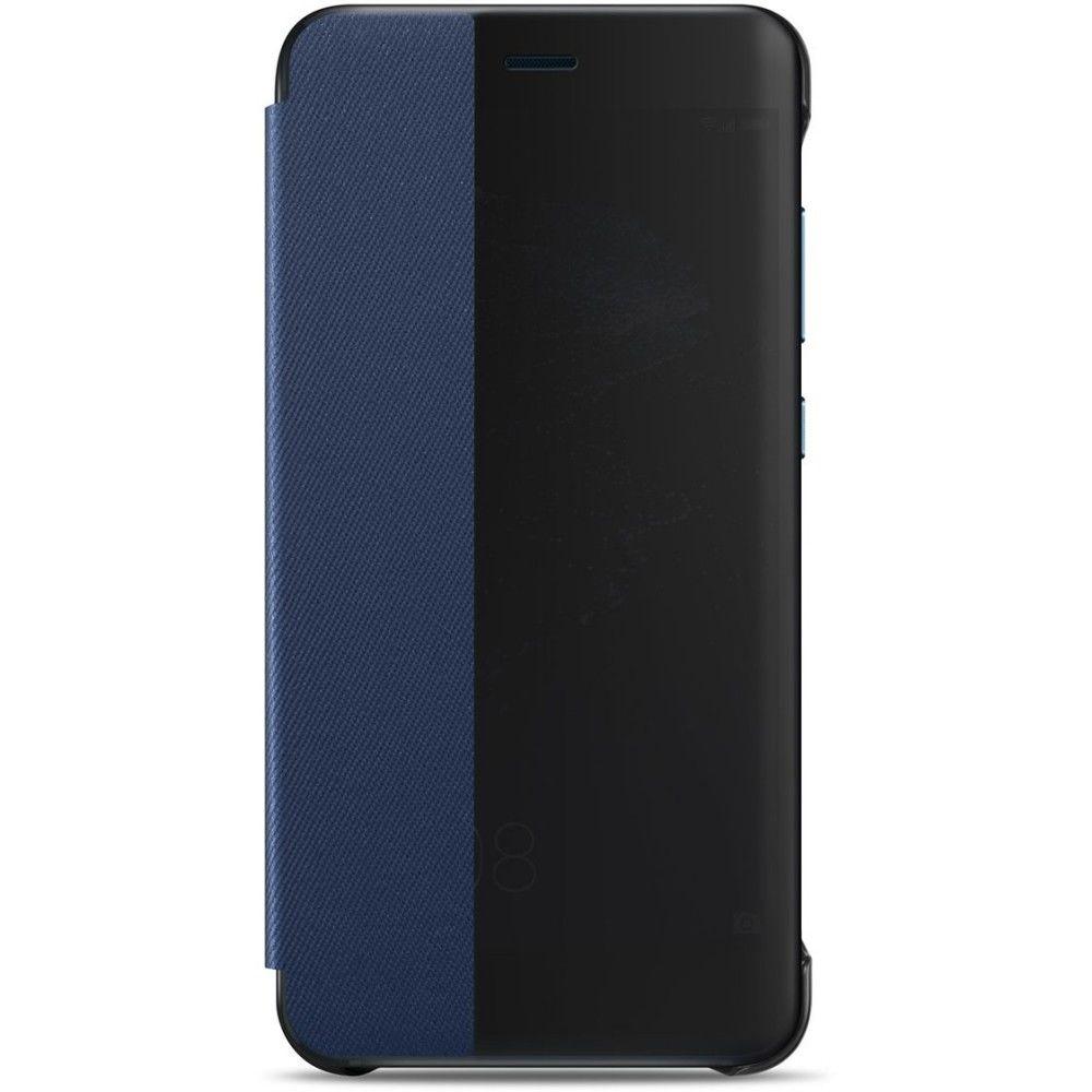 Huawei P10 Lite flipové modré pouzdro