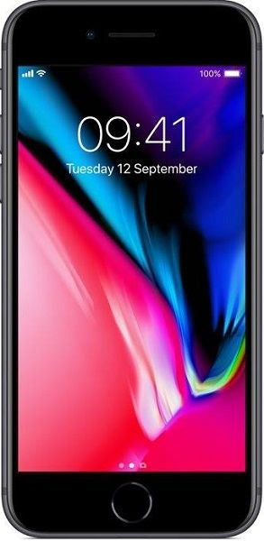 Apple iPhone 8 256GB vesmírně šedý