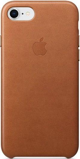 Apple Leather Case pro iPhone 8/7, hnědá