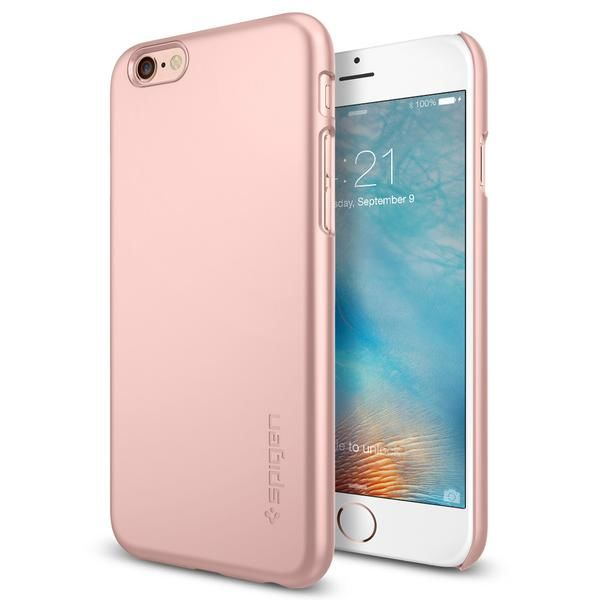 Spigen iPhone 6/6S Case Thin Fit, růžovo-zlatá
