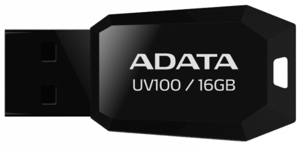 A-DATA UV100 16GB USB 2.0 černý