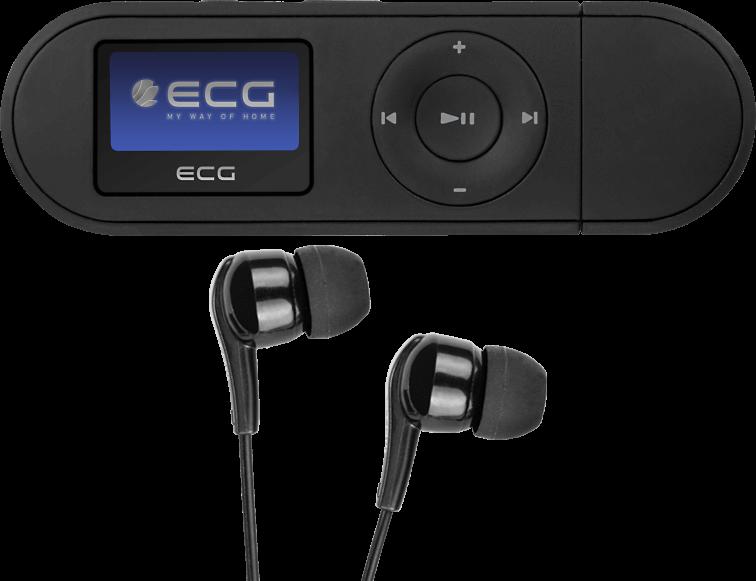 ECG PMP 20 4 GB černý