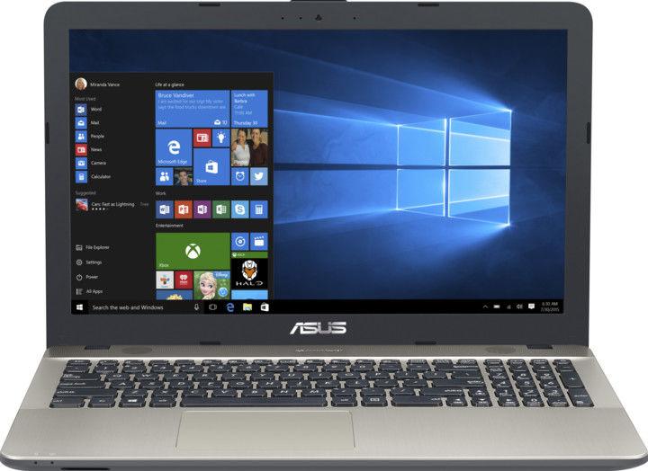 """Asus VivoBook Max X541NA-DM511T černý + dárek Logo brašna na 15,6"""" notebook (černá), eScan Internet Security Suite Antivirový software na 90 dní, Yenkee YMS 002BK bezdrátová myš zdarma"""