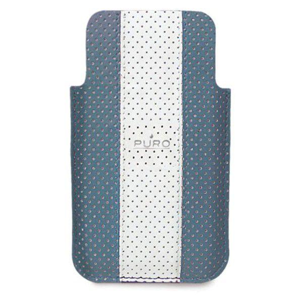 """Puro pouzdro pro iPhone 4 """"Golf"""" (Světle modrá)"""