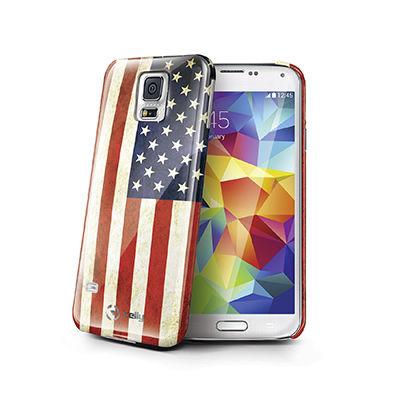 Celly USA Flag kryt pro Samsung Galaxy S5