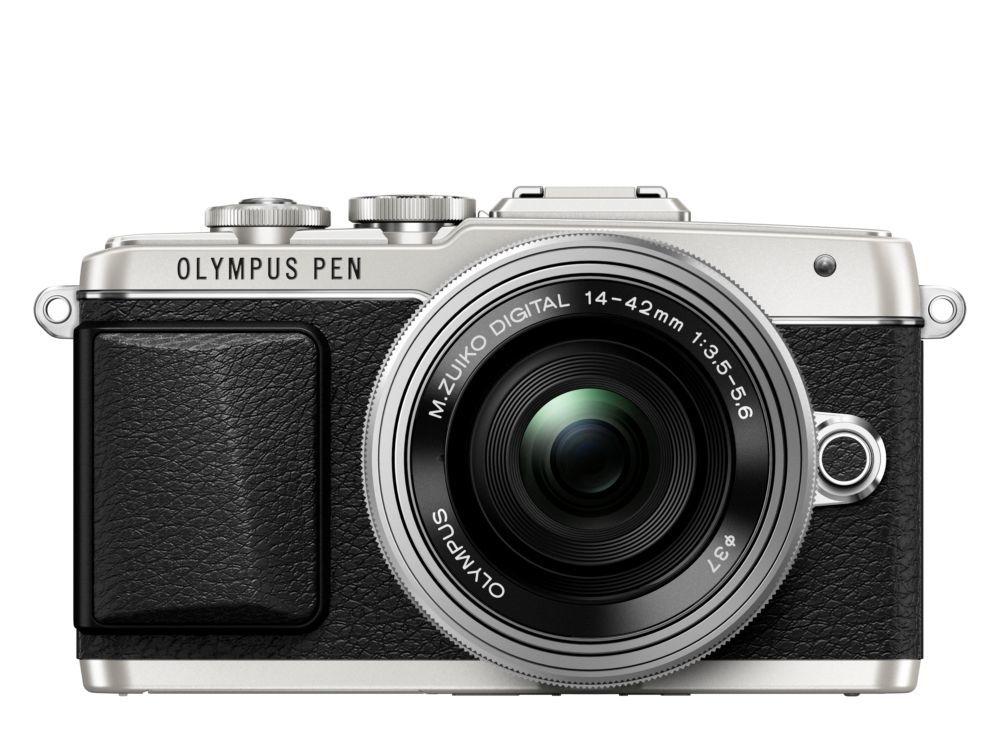 Olympus E-PL7 + 14-42 mm EZ Kit (stříbrno-černý)