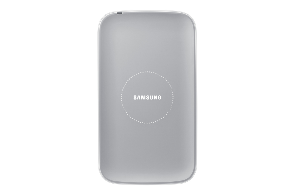 SAMSUNG sada pro bezdrátové nabíjení EP-WI950EW pro Galaxy S4 (i9505), bílá