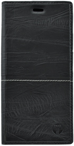 Mobilnet knížkové pouzdro pro iPhone X, černá