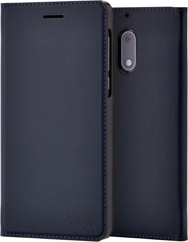 Nokia Slim knížkové pouzdro pro Nokia 6, modrá