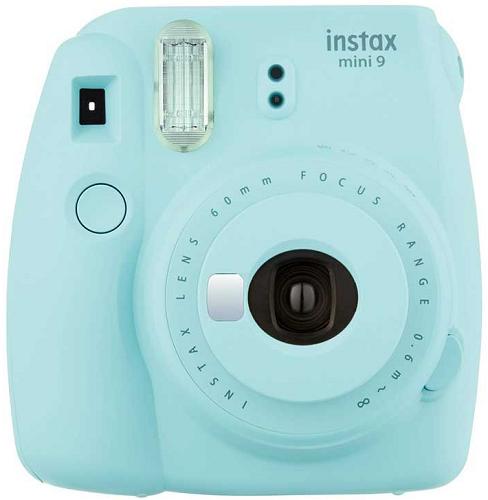 Fujifilm Instax Mini 9 světle modrý + Pouzdro + 10ks filmů
