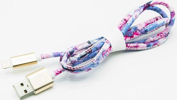 Mizoo X28-16i lightning-USB kabel, růžová