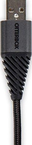 Otterbox microUSB kabel 1m, černý