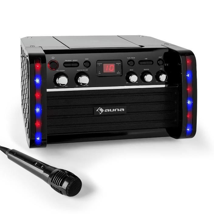 Auna Disco Fever černý karaoke systém