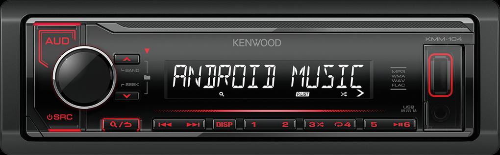 Kenwood KMM-104RY červené