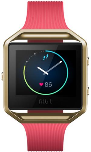 Fitbit Blaze Gold L, zlatá-růžová