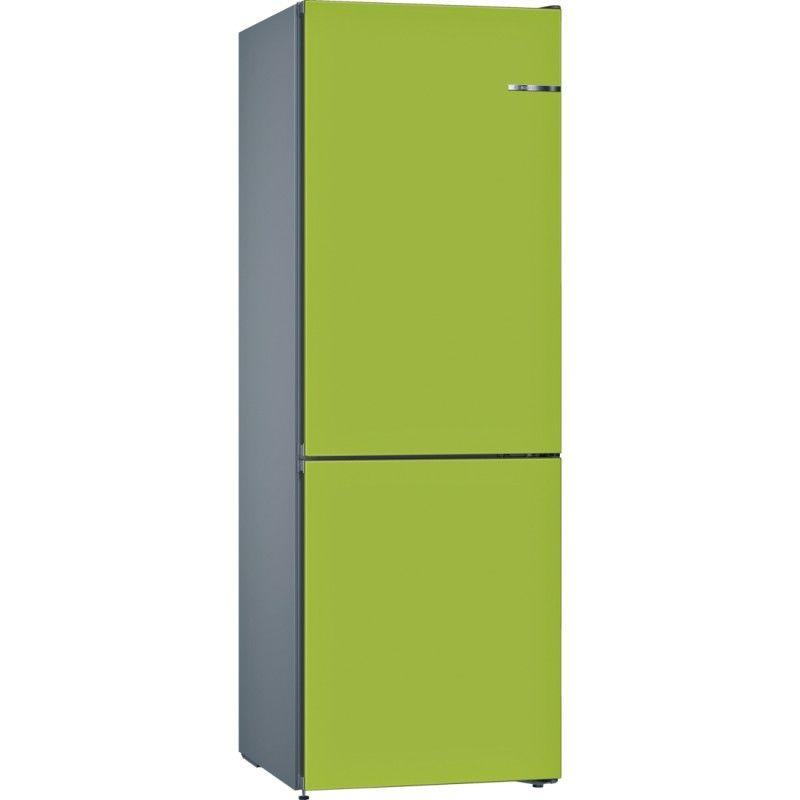 Bosch KVN36IH3A limetkově zelený kryt dveří