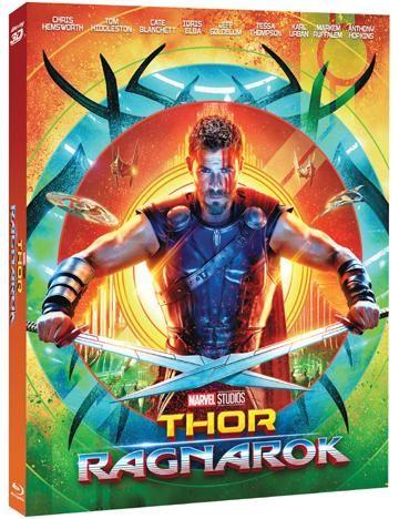 Thor: Ragnarok (3D + 2D) - 2x Blu-ray film (Limitovaná sběratelská edice)