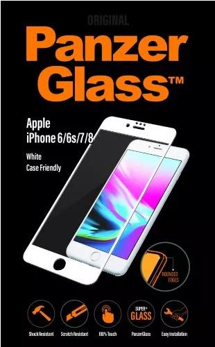 PanzeGlass tvrzené sklo pro iPhone 8/7/6/6s, bílé