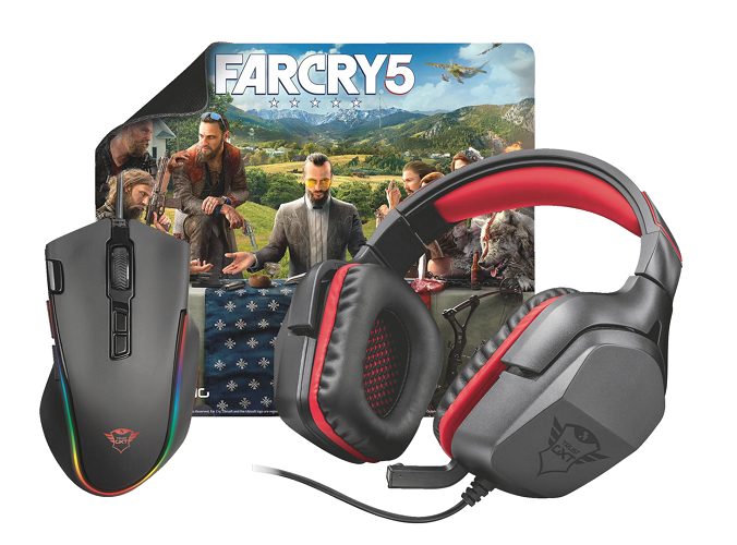 Trust 3in1 Gaming bundle + Far Cry 5