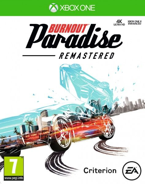 Burnout Paradise Xbox One hra
