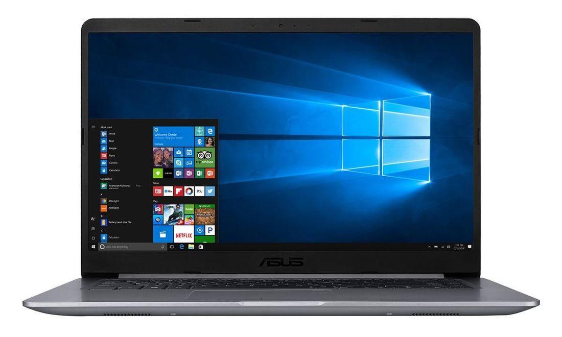 """Asus VivoBook S510UN-BQ131T šedý notebook + dárek Logo brašna na 15,6"""" notebook (černá), eScan Internet Security Suite Antivirový software na 90 dní, Yenkee YMS 002BK bezdrátová myš zdarma"""