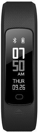 Evolveo FitBand B2 černý + dárek Evolveo řemínek pro FitBand B2, černá/tyrkysová zdarma