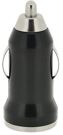 4-OK USB 12/24V 1A černá, autonabíječka