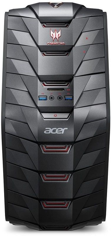 Acer Predator G3 DG.E08EC.002 černý
