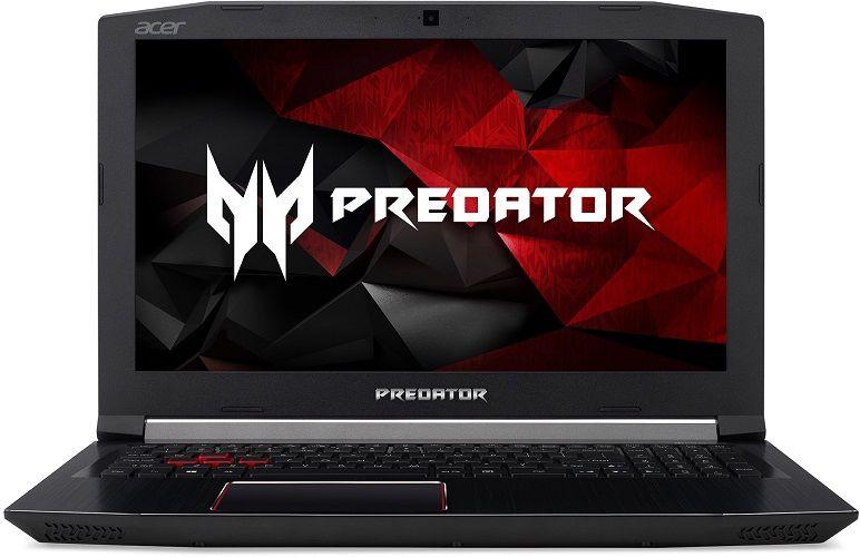 "Acer Predator Helios 300 černý + dárek Logo brašna na 15,6"" notebook (černá), eScan Internet Security Suite Antivirový software na 90 dní, Yenkee YMS 002BK bezdrátová myš zdarma"