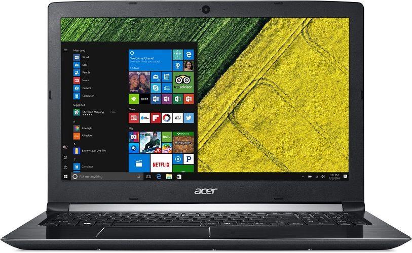 """Acer Aspire 5 NX.GTCEC.004 černý + dárek Logo brašna na 15,6"""" notebook (černá), eScan Internet Security Suite Antivirový software na 90 dní, Yenkee YMS 002BK bezdrátová myš zdarma"""