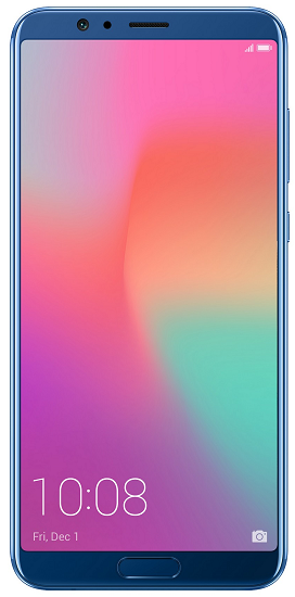 Honor View 10 modrý