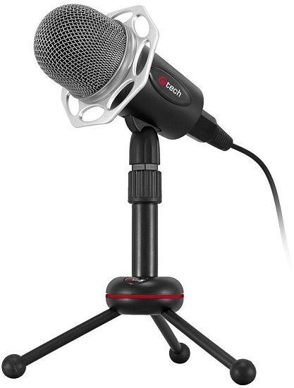 C-TECH MIC-03 - Stolní PC mikrofon