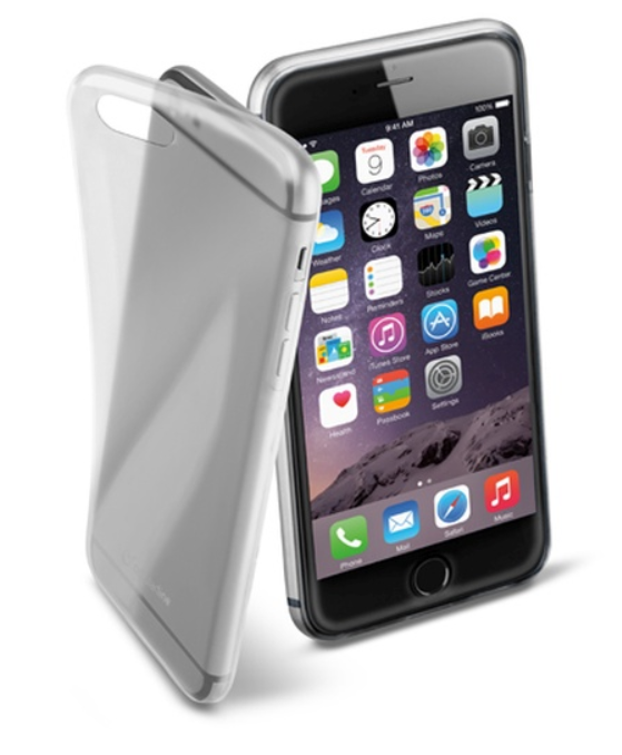Cellular Line Fine gelové pouzdro pro iPhone 6 Plus, transparentní