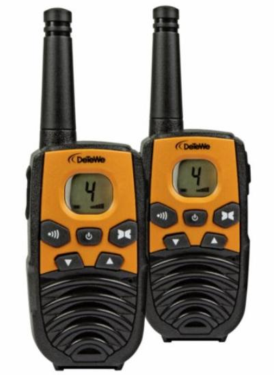 DeTeWe Outdoor 4000 vysílačka oranžová