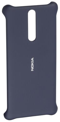 Nokia Soft Touch pouzdro pro Nokia 8, modrá