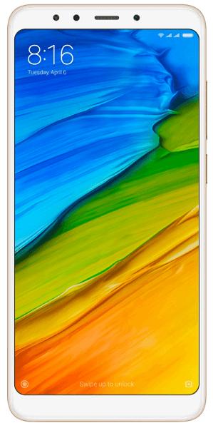 Xiaomi Redmi 5 32GB zlatý