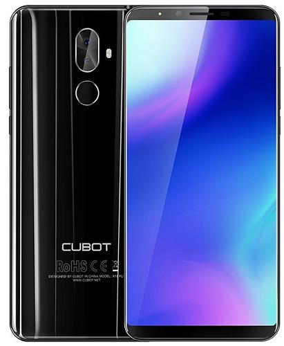 Cubot X18 Plus černý