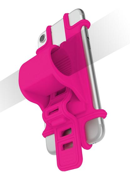 Celly Easybike růžový, držák